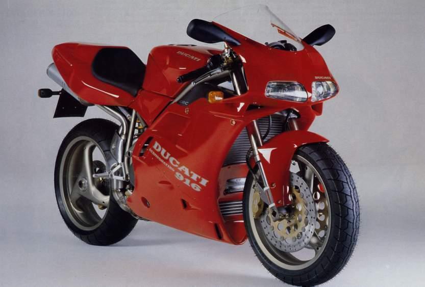 90s Sports Bikes - Ducati 916