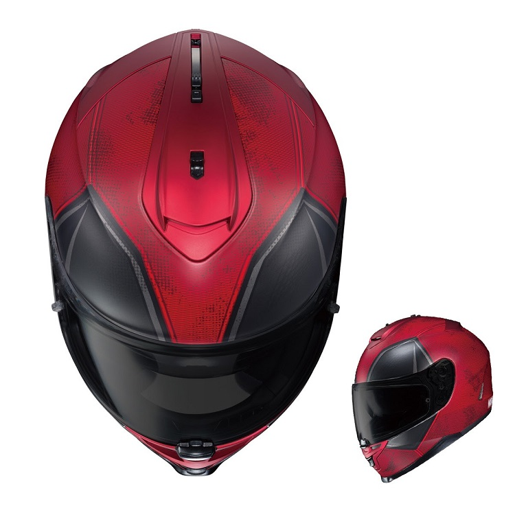 Ghost Rider & Deadpool Motorcycle Helmet 2