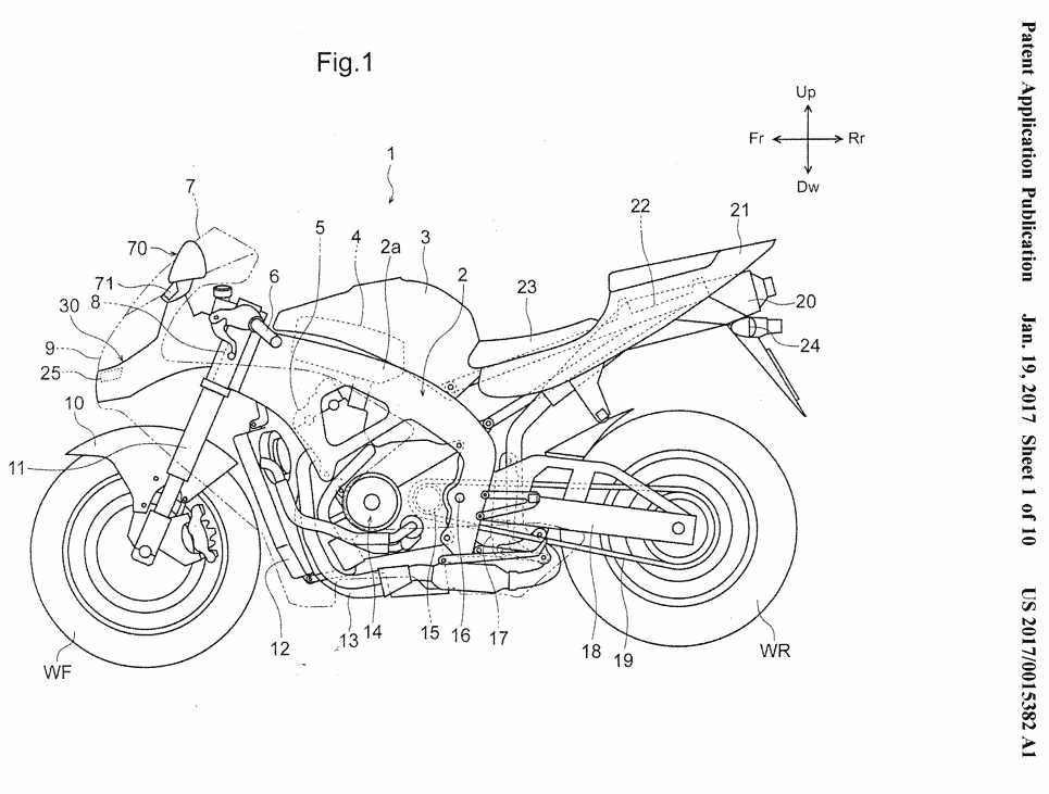 2018 CBR600RR Patents 2