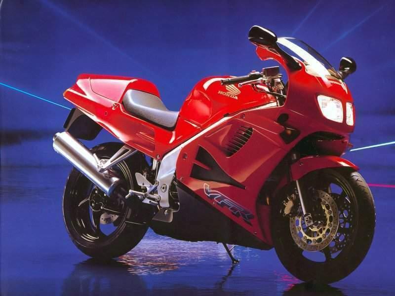 90s Sports Bikes - Honda VFR