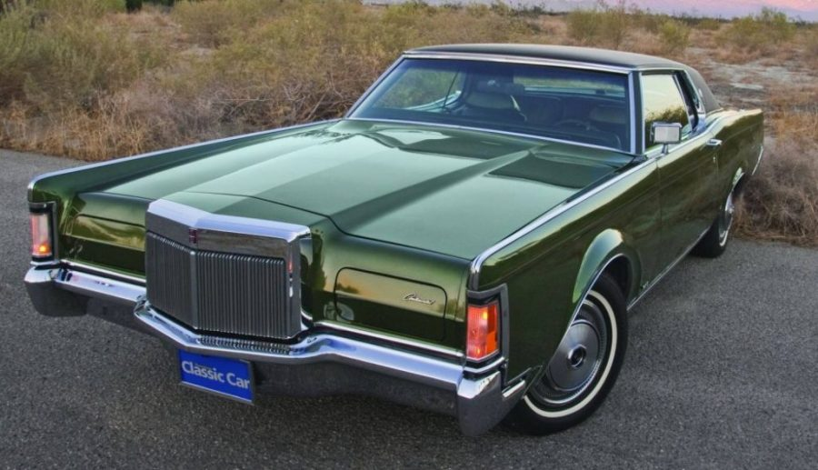Classic Luxury Muscle Cars - Lincoln Continental Mark III