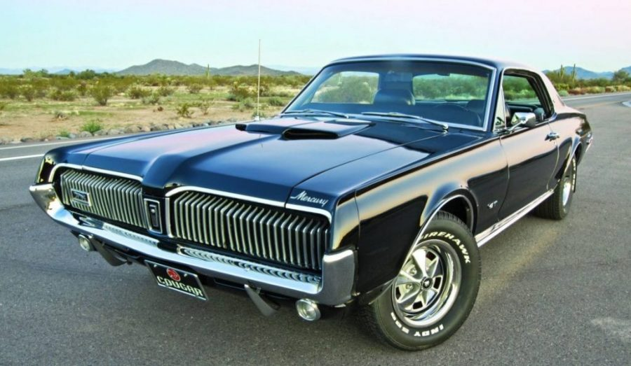 Classic Luxury Muscle Cars - Mercury Cougar XR-7 GT