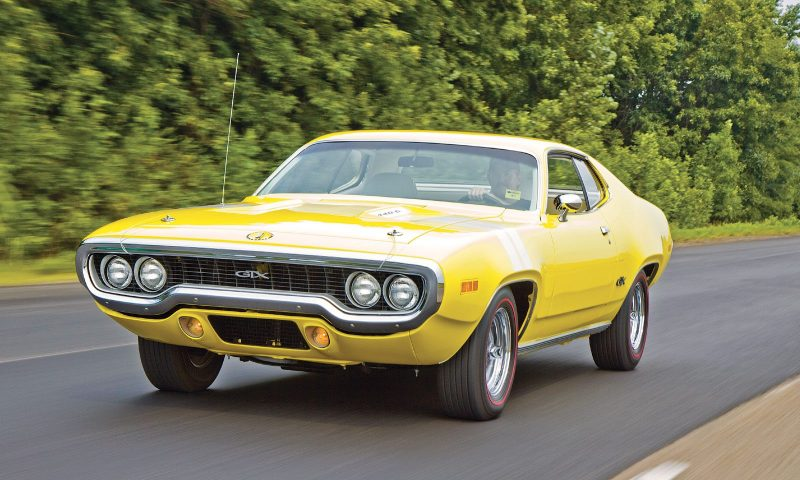 Classic Luxury Muscle Cars - Plymouth GTX Hemi