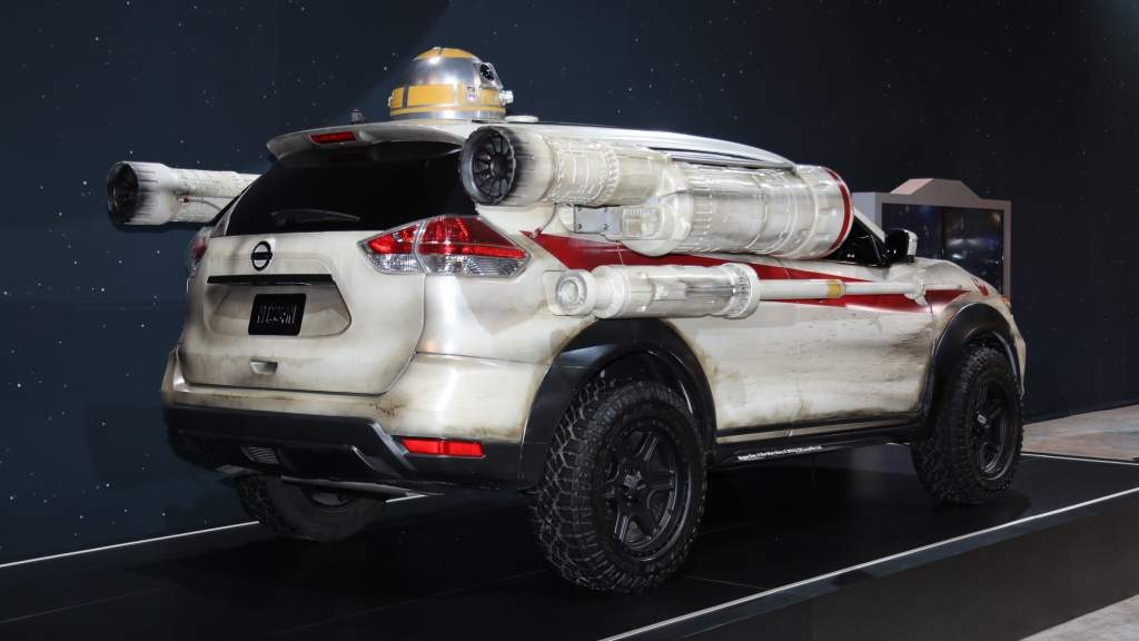 Nissan Rogue X-Wing Rer 3/4