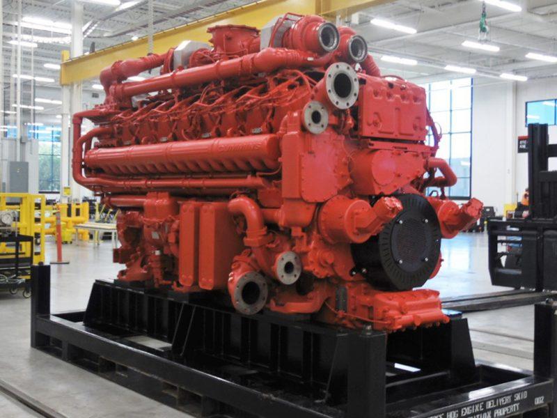 Greatest Diesel Engines - Cummins QSK95