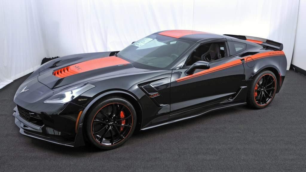 2017 Yenko Corvette Front 3 4