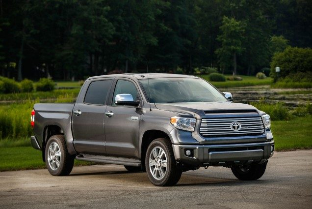 Best Resale Value Cars 2017 - Toyota Tundra
