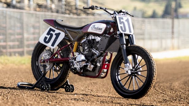 Indian Scout Flat Track 4