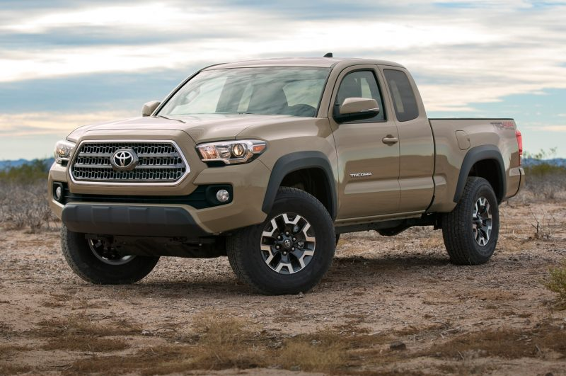 Best Resale Value Cars 2017 - Toyota Tacoma