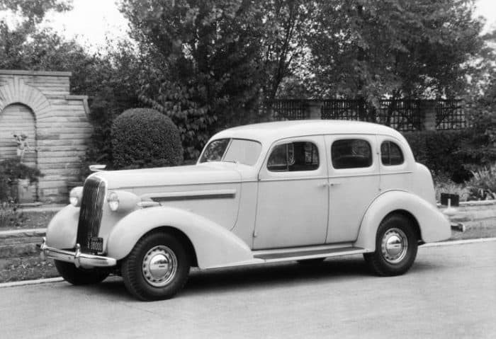 Old School Buick -1936 Buick Century