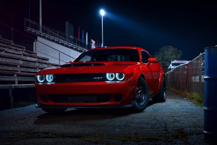 The Dodge Demon Hp Figures