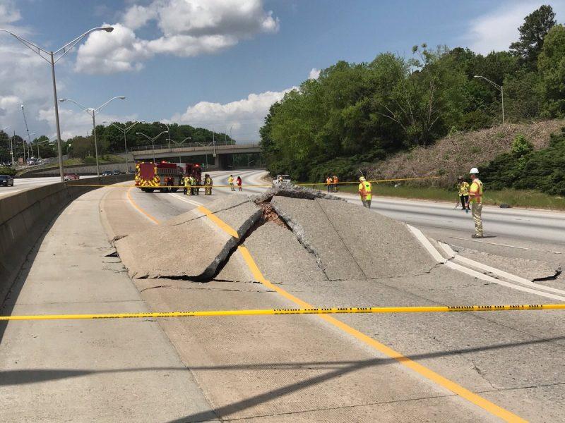 Atlanta Highway Buckles 1