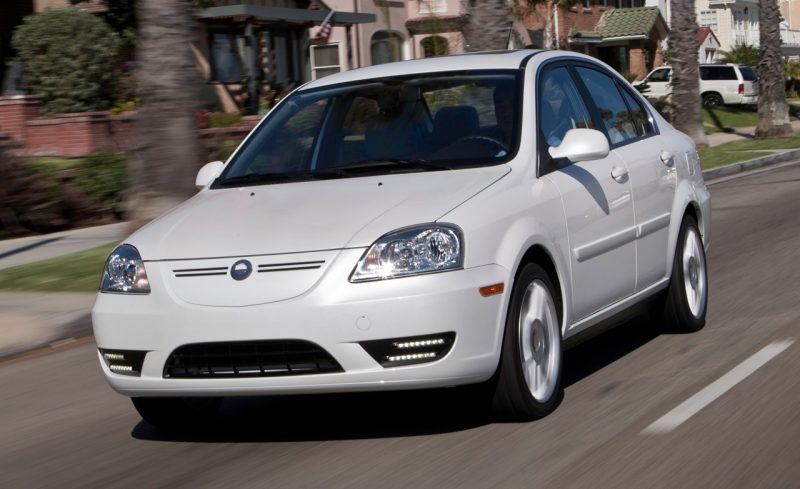Electric Cars That Failed To Sell - Coda