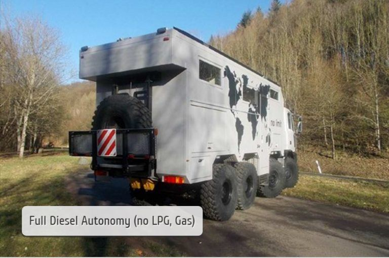 Iveco Astra HD8 8×6 Expedition Truck