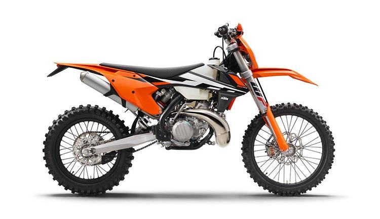 Modern KTM Dirt Bike