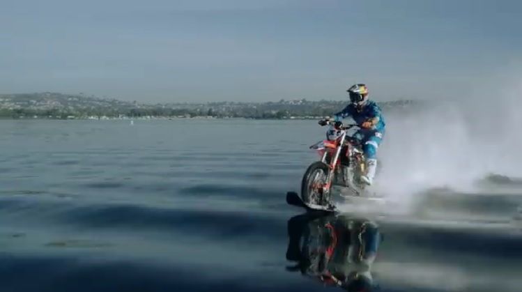 Dirt Bike On Water 1
