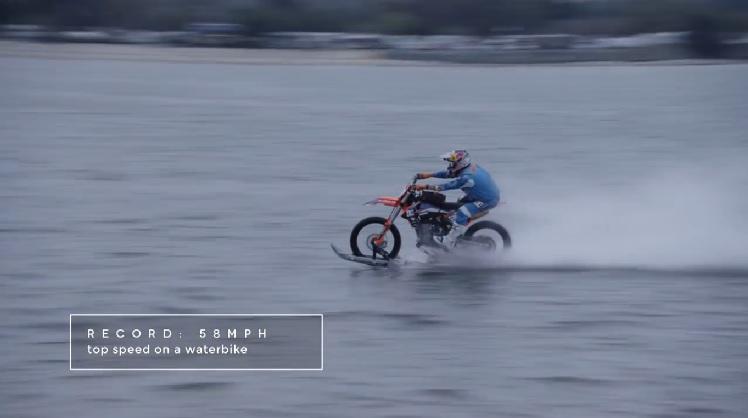 Dirt Bike On Water 3