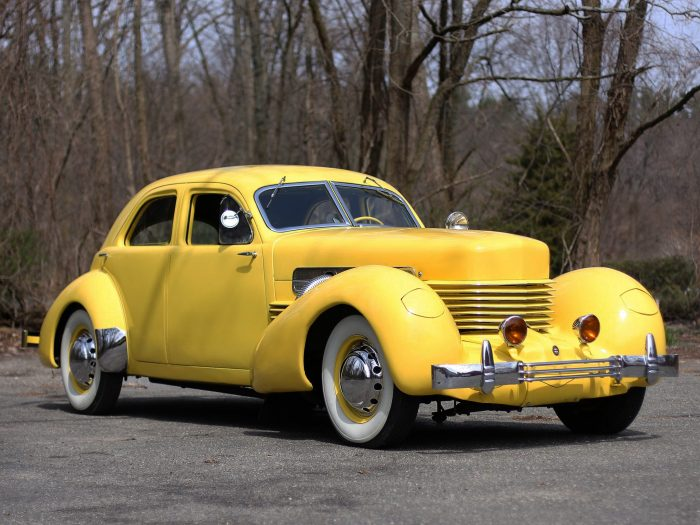 Defunct American Car Manufacturers - Cord