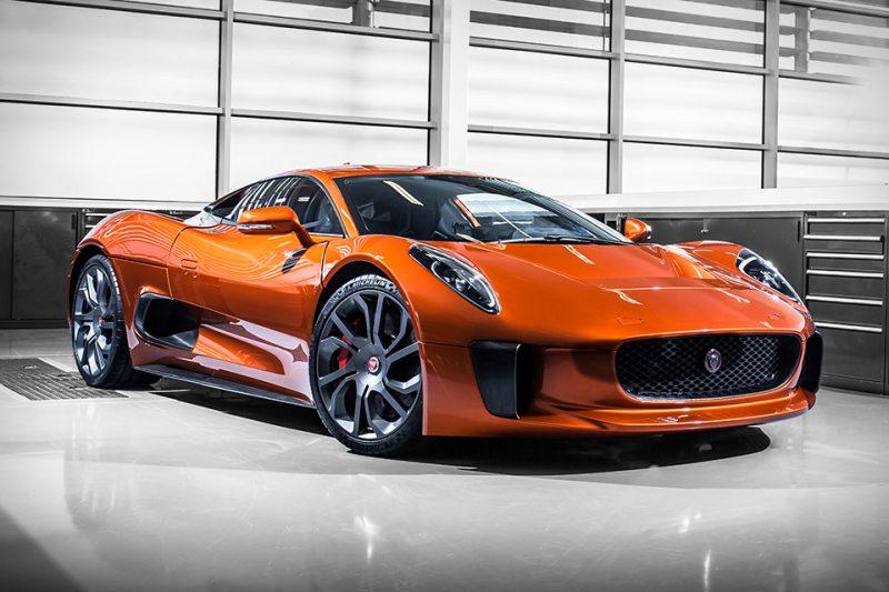 Cars That Never Made It - Jaguar C-X75 Spectre Editon
