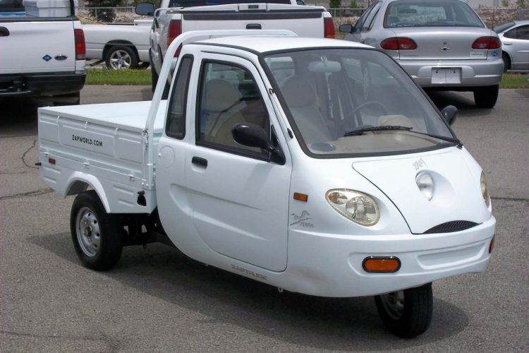Electric Cars That Failed To Sell - ZAP Xebra Pickup