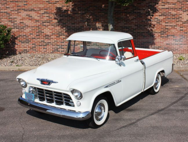 Old Truck Restoration - 1955-1958 Chevrolet Cameo Carrier