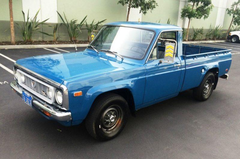 Classic Truck Restoration - 1974-1977 Mazda Rotary Pickup (REPU)