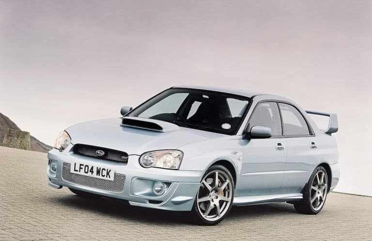 The 2004 Subaru STI WR1 is one of the fastest Subaru cars available