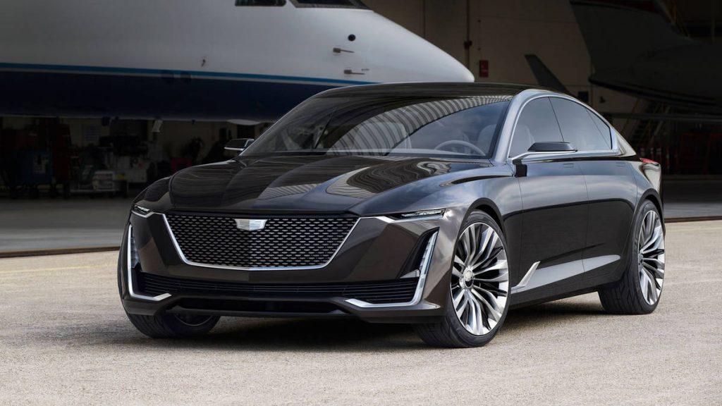 Cadillac Escala Concept 3/4 view