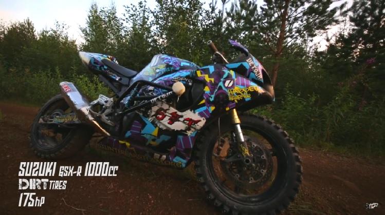 Dirt Bike GSX-R 1