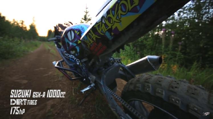 Dirt Bike GSX-R 2