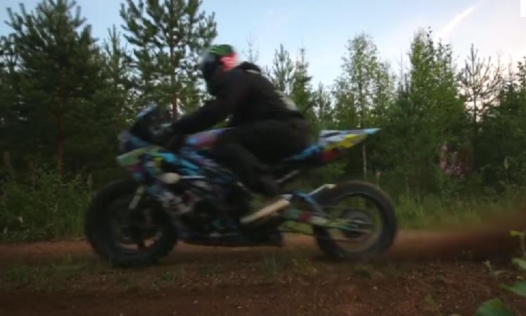 Dirt Bike GSX-R 3