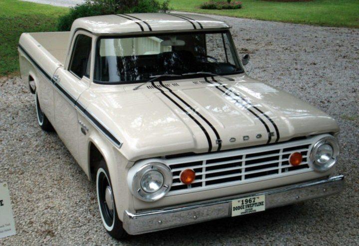 Old Truck Restoration - 1964-1967 Dodge Custom Sport Special