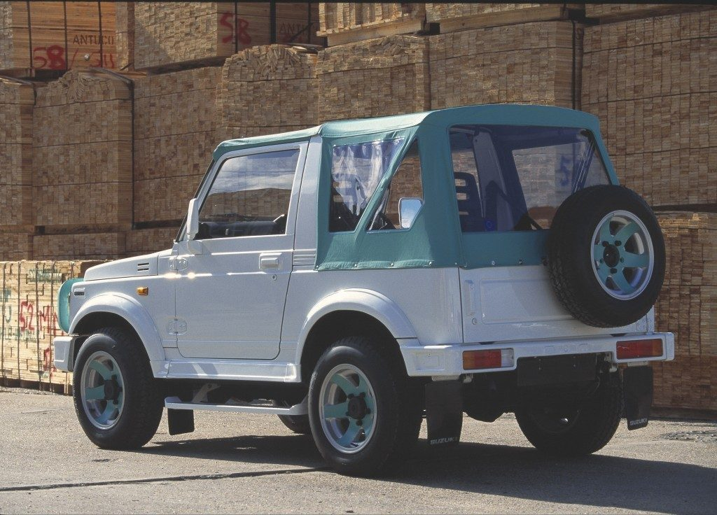 Suzuki Samurai is the worst car ever made according to Consumer Reports