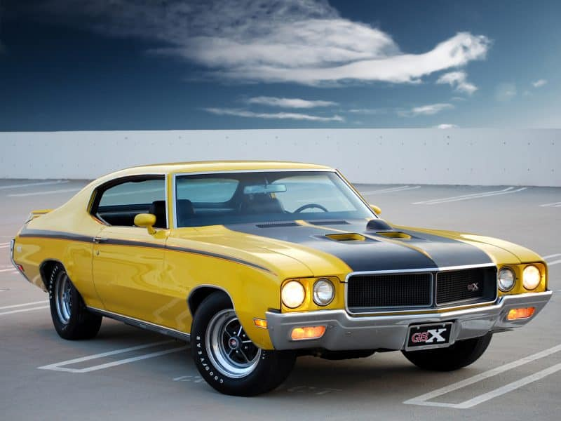 Old School Buick - 1970 Buick GSX Stage 1