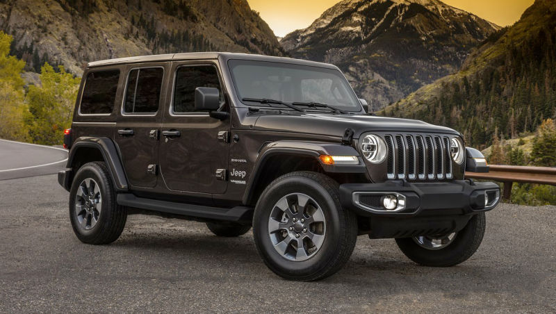 Best Cars of 2018 - Jeep Wrangler JL