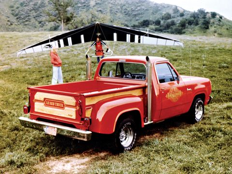1978 Dodge Lil' Red Wagon - Muscle Truck