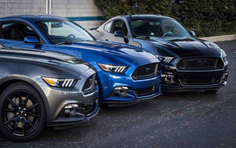 2018 Roush Warrior Mustang Lineup
