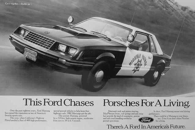Coolest Cop Cars Ever - Ford Mustang