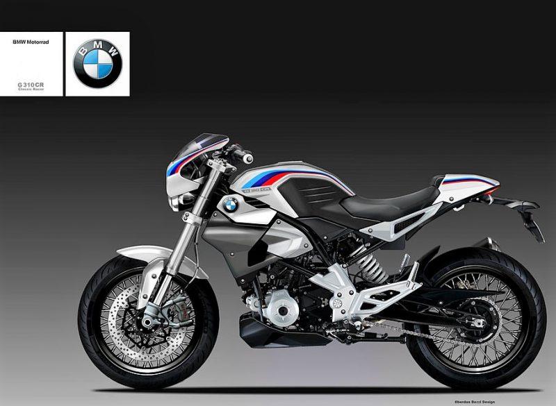 BMW G310R Cafe Racer Concept 1