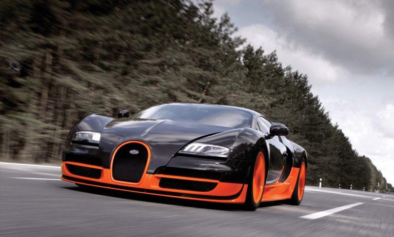 Most Fastest Car In The World - Bugatti Veyron Super Sport