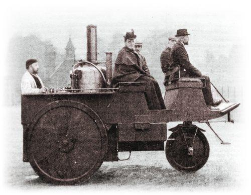 Grenvile Steam Carriage