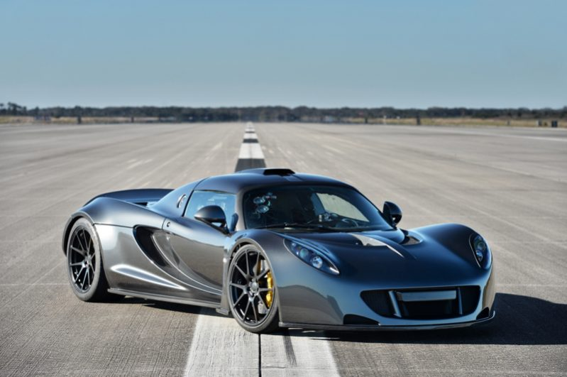 Most Fastest Car In The World - Hennessey Venom GT