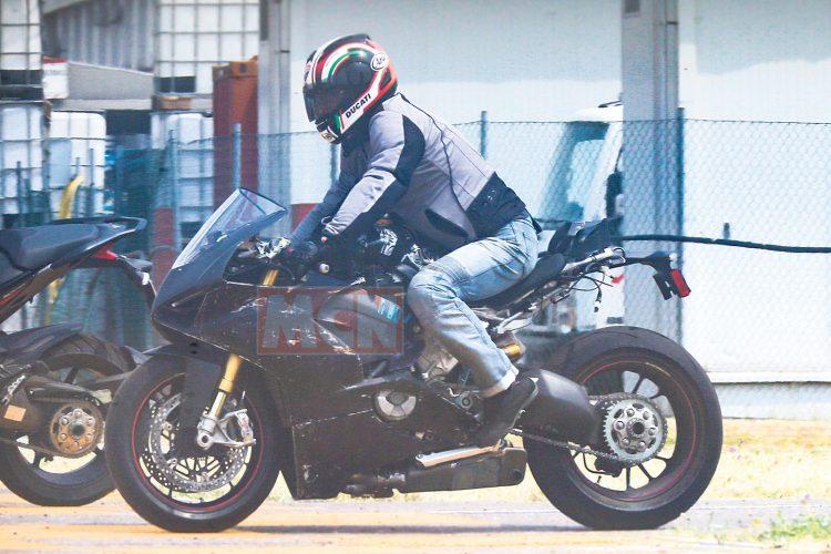 V4 Ducati Spyshot 1
