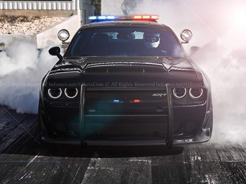 Demon Cop Car