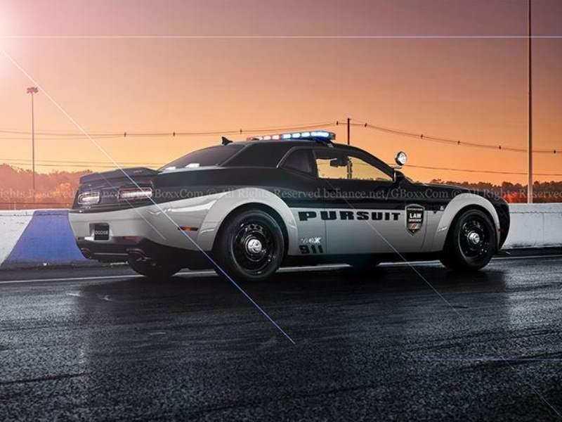 Demon Cop Car