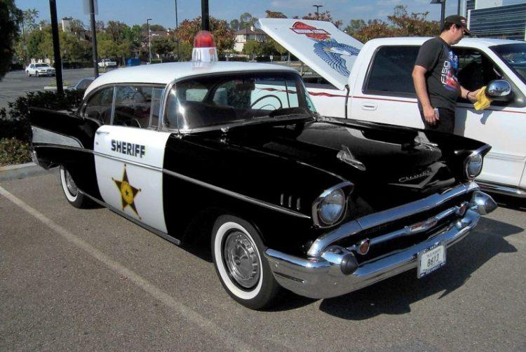 Coolest Cop Cars Ever - Chevrolet Bel Air