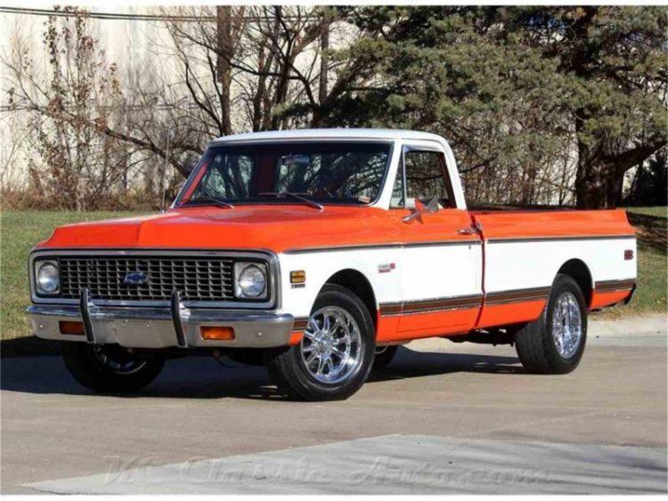 Cheap Classic Cars - 1971-1972 Chevrolet C10 Cheyenne