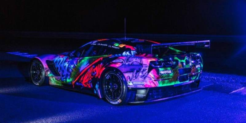 Corvette C7R Art Car