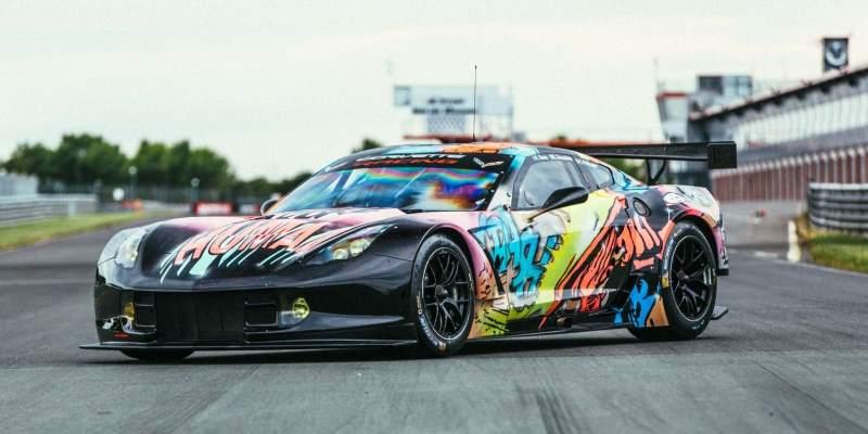 Corvette C7R Art Car