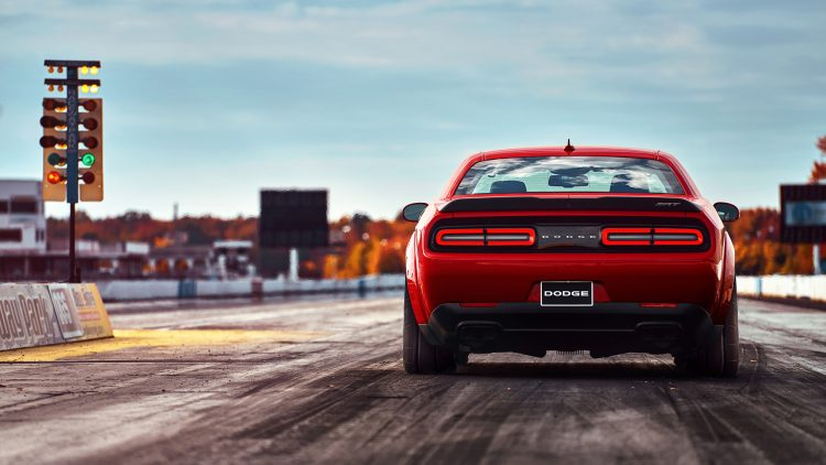 2018 6.2 Hemi Dodge Challenger SRT Demon Dragstrip Launch